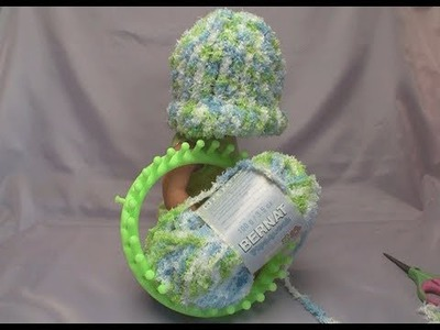 Loom Knit Baby's First Hat - Full Tutorial