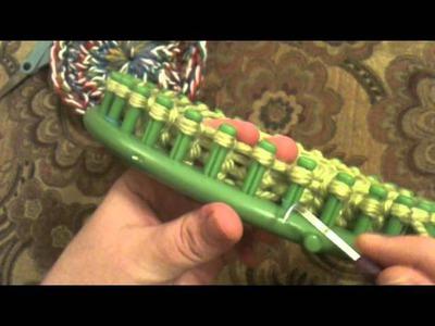 Loom Knit: Granny Round
