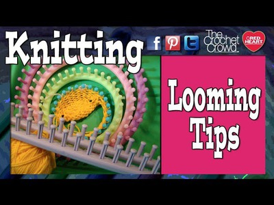 Loom Knitting - Pearl The Lazy Way Quick