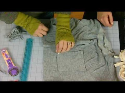 Make Yarn from Recycled Clothing - Knitting Daily TV Episode 409