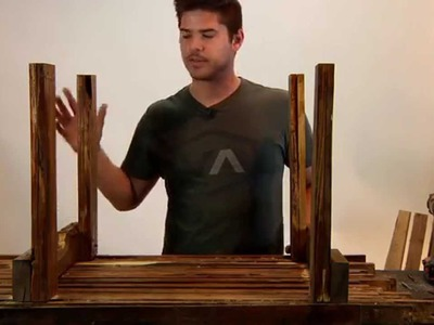 Make Your Own DIY Wood Pallet Coffee Table