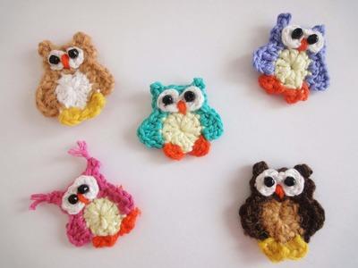 Маленький совёнок Small owlet Crochet