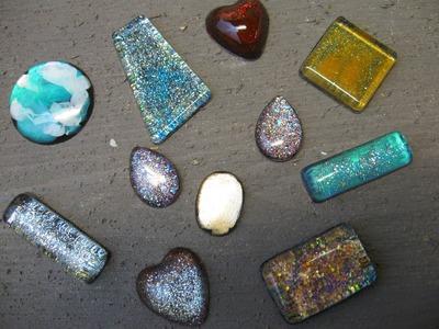 Nailpolish Jewelry Resin Charms Craft Tutorial