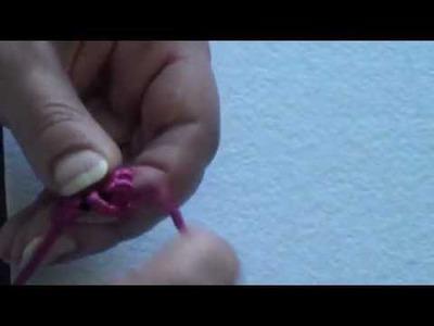 Segreti d'Artista: DIY Tutorial orecchini in macramè