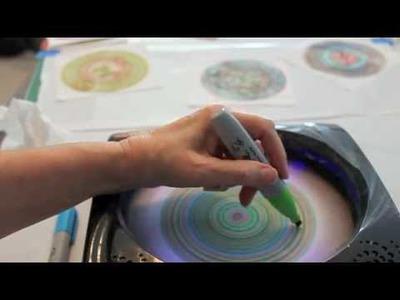 Sharpie Spin Art Tutorial