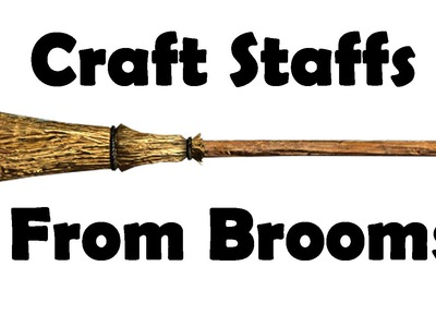 Skyrim: How to Craft your own Staff
