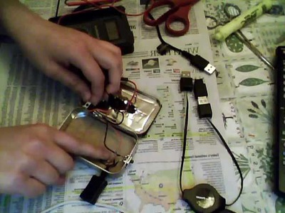 Solar USB Charger with Battery Backup - Complete DIY Tutorial
