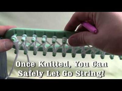 Spinrite. Bernat. Patons Loom Knitting Tutorial