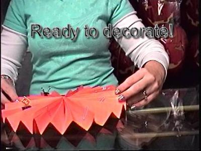 Super cute halloween craft tutorial *Kid friendly*