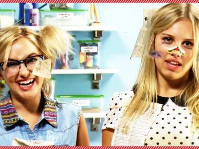 The Worst DIY'er: Bookshelf Craft with Gracie Dzienny