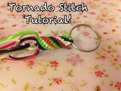Tornado Stitch Tutorial~Gimp.Craft Lace.Boondoggle