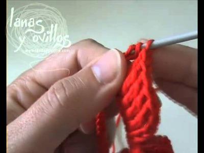 Tutorial Rosa Crochet o Ganchillo Paso a Paso en Español