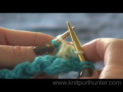 Two Handed Two Color Knitting