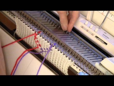 "Vertical, ""Floatless"" Fair Isle for Knitting Machine by Diana Sullivan"