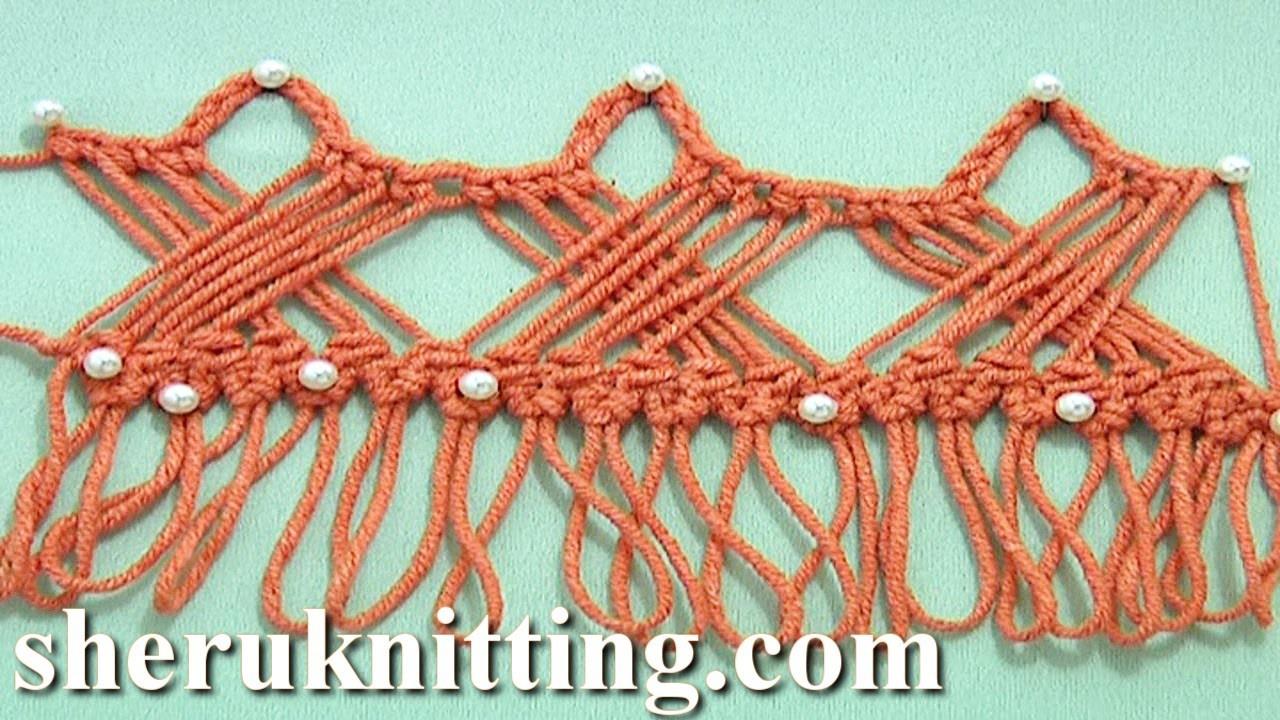Way to Develop Hairpin Crochet Strip Tutorial 30 How to Crochet Hairpin Braid