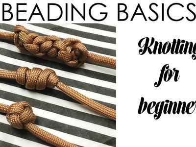 Beading Basics: Knotting for Beginners