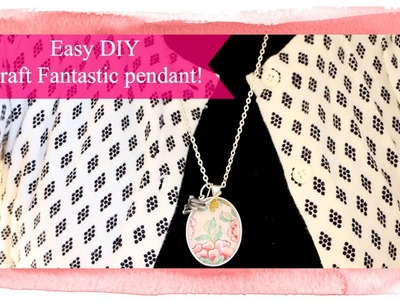 Create a Craft Fantastic Pendant Necklace in Minutes!