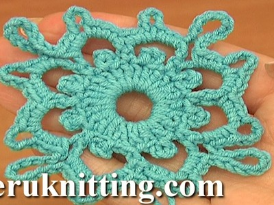 Crochet Square Motifs Tutorial 7 Part 1 of 2 Crochet carrés Motifs