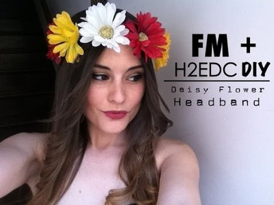 DIY - EDC Daisy Flower Headband