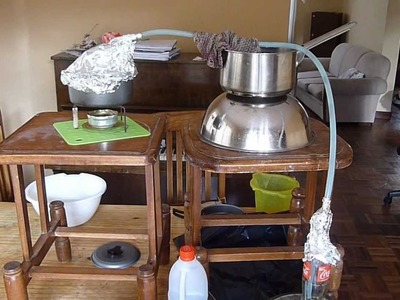 DIY: Emergency Desalination still (salt water purification)