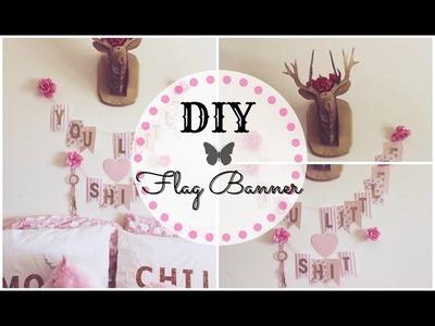 DIY Tumblr Inspired Room Decor - Bunting Banner