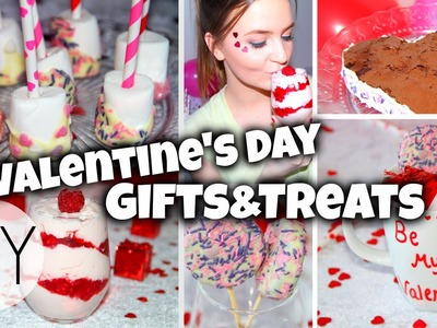 Easy & Fun DIY Valentine's Day Gifts and Treats!