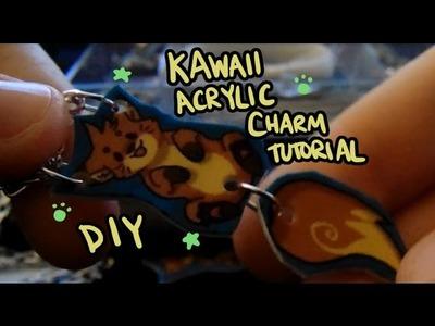 Easy DIY Acrylic Fox Charm Tutorial