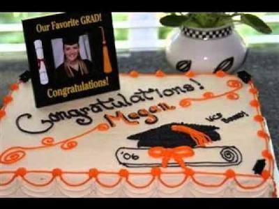 Easy DIY Graduation cake decorations ideas