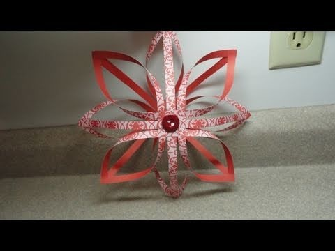 Finnish Star Decoration.Ornament  - 3-D paper star