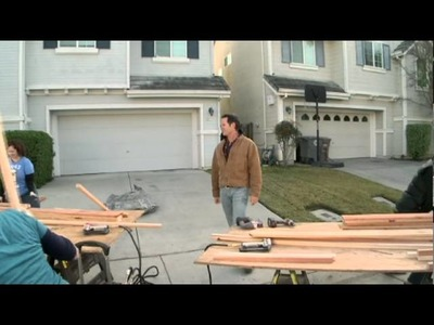 Fire Water vs. Floating Bed DIY NETWORK Landscapes by Cochran 2
