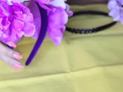 Floral Head Piece & Floral Headband DIY Tutorial