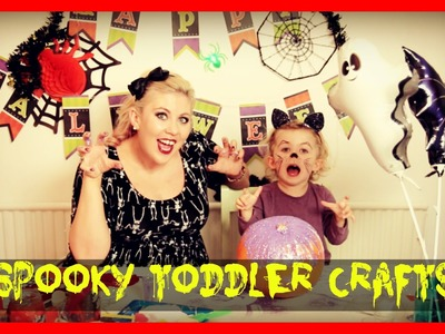 Halloween Toddler Crafts