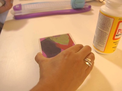 Handmade Drink Coaster : Home Decor Crafts
