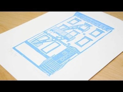 How-to Block Print, Decor It Yourself