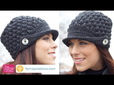 How To Crochet Women's Peak Hat