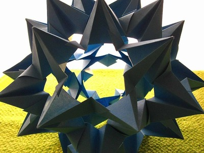 How to fold: Kusudama Omega Star by Valerie Vann