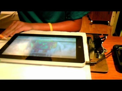 How to make a android tablet or ipad carry case from duck tape.part1