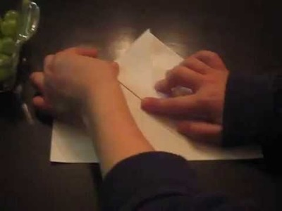 How to make a origami envelope