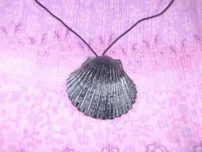 How to make a simple shell necklace - EP