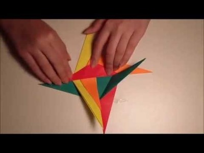 How To MAke an Origami Spiral