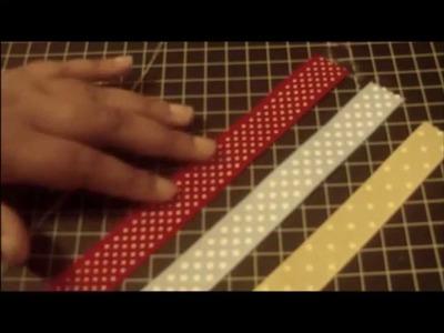How to Make Ribbon Bookmark