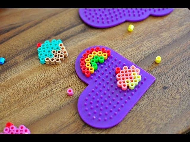 How to melt Perler Beads. Hama Beads. Melty Beads