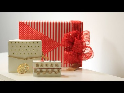 How to Wrap a Gift for Girls - 11th DIY of Christmas