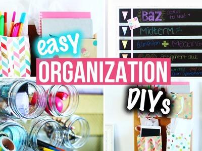 Organization DIYs & Easy Room Decor for Getting Organized! | LaurDIY