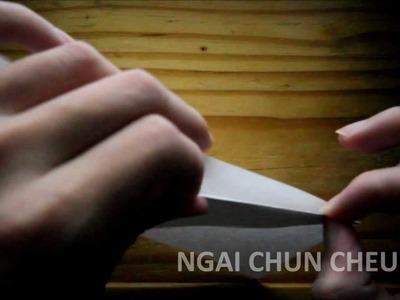 Origami Pen Holder Box (Tutorial)