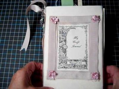 """Shabby Chic  """"Craft Journal"""""""