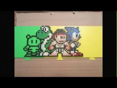 Videogame perler bead art (for Gamester81 and xLovenRagex)