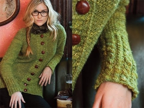 #19 Cardigan, Vogue Knitting Early Fall 2010