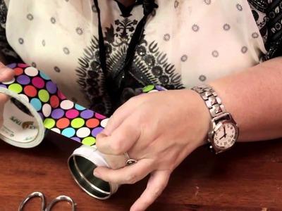 A Handmade Toothbrush Holder : Homemade Crafts