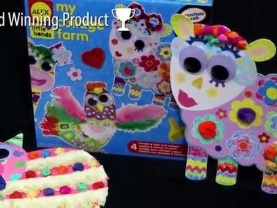 ALEX Toys My Collage Farm Craft Kit  #520W